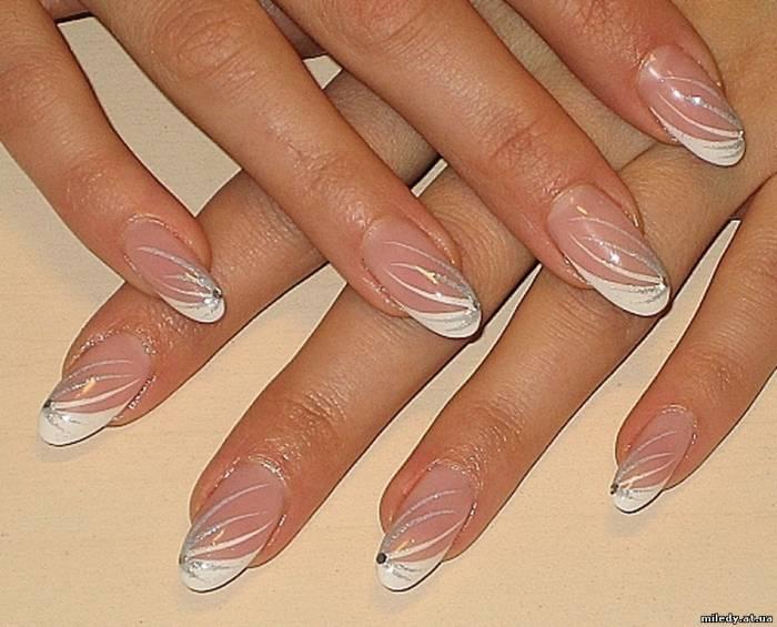 Свадебные ногти биозавивка волос